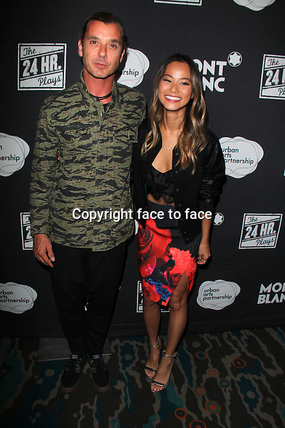 SANTA MONICA, CA - June 20: Gavin Rossdale, Jamie Chung at The 24 Hour Plays Los Angeles After-Party, Shore Hotel, Santa Monica, June 20, 2014. Credit: Janice Ogata/MediaPunch<br />