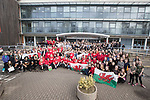 Sport Wales<br /> Turn Wales Red for Team Wales<br /> 23.03.18<br /> Steve Pope &copy;Sportingwales