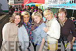 Enjoying Dingle Food festival on Saturday were from left: Suzanna Ni Loinsingh, Aileen Griffin, Margaret Moriarty, Sheila Moriarty and Margaret Moriarty..