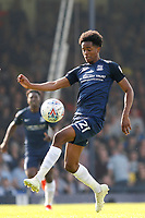 Shayon Harrison of Southend United on the ball during the Sky Bet League 1 match between Southend United and MK Dons at Roots Hall, Southend, England on 21 April 2018. Photo by Carlton Myrie.