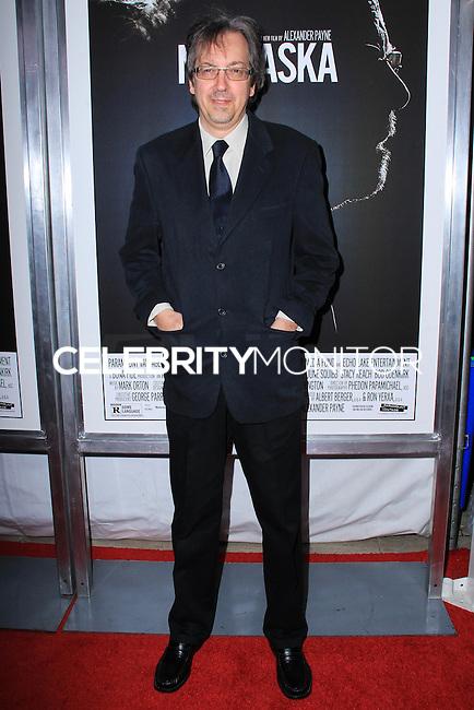 "NEW YORK, NY - NOVEMBER 06: Bob Nelson New York Special Screening of Paramount Pictures' ""Nebraska"" held at Paris Theater on November 6, 2013 in New York City. (Photo by Jeffery Duran/Celebrity Monitor)"