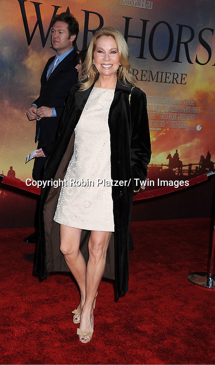 "Kathie Lee Gifford attends the world premiere of ""War Horse"" on December 4, 2011 at Avery Fisher Hall in New York City."
