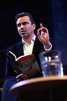 Sunday 25 May 2014, Hay on Wye, UK<br /> Pictured: Oscar Guardiola Rivera.<br /> Re: The Hay Festival, Hay on Wye, Powys, Wales UK.