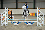 Class 1. British Showjumping Juniors. Brook Farm training centre. Stapleford abbots. Essex. 25/03/2018. ~ MANDATORY CREDIT Garry Bowden/SIPPA - NO UNAUTHORISED USE - +44 7837 394578