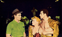 The Greatest Show on Earth (1952) <br /> Charlton Heston, Betty Hutton &amp; Cornel Wilde<br /> *Filmstill - Editorial Use Only*<br /> CAP/MFS<br /> Image supplied by Capital Pictures