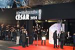 cérémonie des César 2014, France, Paris, Théatre du Chatelet