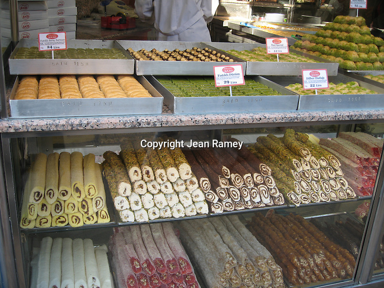 Turkish Delight Sweets