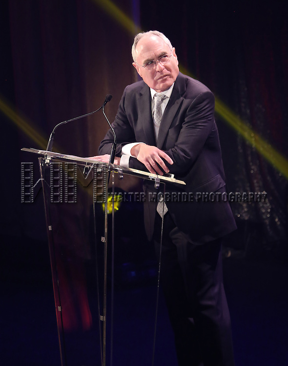 Todd Haimes onstage during the Roundabout Theatre Company's  50th Anniversary Gala at The Waldorf-Astoria on February 29, 2016 in New York City.