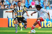 ATENÇÃO EDITOR: FOTO EMBARGADA PARA VEÍCULOS INTERNACIONAIS. - RIO DE JANEIRO, RJ, 09 DE SETEMBRO DE 2012 - CAMPEONATO BRASILEIRO - BOTAFOGO X NAUTICO - Araujo, jogador do Nautico, durante partida contra o Botafogo, pela 23a rodada do Campeonato Brasileiro, no Stadium Rio (Engenhao), na cidade do Rio de Janeiro, neste domingo, 09. FOTO BRUNO TURANO BRAZIL PHOTO PRESS