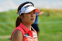 Jeongeun6 Lee (KOR) heads to the number 2 tee during Saturday's third round of the 72nd U.S. Women's Open Championship, at Trump National Golf Club, Bedminster, New Jersey. 7/15/2017.<br /> Picture: Golffile | Ken Murray<br /> <br /> <br /> All photo usage must carry mandatory copyright credit (&copy; Golffile | Ken Murray)