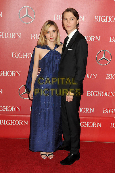 2 January 2016 - Palm Springs, California - Zoe Kazan, Paul Dano. 27th Annual Palm Springs International Film Festival Awards Gala held at the Palm Springs Convention Center.  <br /> CAP/ADM/BP<br /> &copy;BP/ADM/Capital Pictures