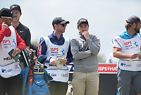 Ashley Chesters (ENG) and Paul Dunne (IRL) during the 3rd round of the VIC Open, 13th Beech, Barwon Heads, Victoria, Australia. 09/02/2019.<br /> Picture Anthony Powter / Golffile.ie<br /> <br /> All photo usage must carry mandatory copyright credit (&copy; Golffile | Anthony Powter)