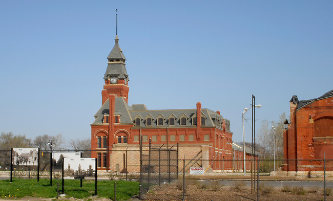 Pullman Works Building, Pullman Historic District, Chicago, Illinois