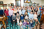 Parents Orlagh Begley and Martin Courtney celebrate the christening of baby Jamie at St. Brendan's Church by Fr. Patsy Walsh and with family and friends at Austin Stacks Club House on Saturday
