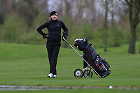 Isabella Hahne (SWE) on the 1st fairway during Round 1 of the Irish Girls U18 Open Stroke Play Championship at Roganstown Golf &amp; Country Club, Dublin, Ireland. 05/04/19 <br /> Picture:  Thos Caffrey / www.golffile.ie