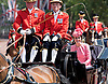 17.06.2017; London, UK: PRINCESS CHARLOTTE AND PRINCE GEORGE <br /> joined other members of the royal family for the Trooping The Colour to celebrate the Queen&rsquo;s 91st Official Birthday<br /> Royals present included the Duke of Edinburgh, Prince Charles and Camilla, Duchess of Cornwall, Prince William, Kate Middleton, Prince George; Princess Charlotte; Prince Harry, Prince Andrew; Princess Beatrice, Princess Eugenie, Prince Edward, Princess Anne,Prince and Princess Michael Of Kent, Lady Helen Taylor, Duke of Kent, Duke of Gloucester and Duchess of Gloucester,Peter Phillips and Autumn and Lady Amelia Windsor.<br /> Mandatory Credit Photo: &copy;Francis Dias/NEWSPIX INTERNATIONAL<br /> <br /> IMMEDIATE CONFIRMATION OF USAGE REQUIRED:<br /> Newspix International, 31 Chinnery Hill, Bishop's Stortford, ENGLAND CM23 3PS<br /> Tel:+441279 324672  ; Fax: +441279656877<br /> Mobile:  07775681153<br /> e-mail: info@newspixinternational.co.uk<br /> Usage Implies Acceptance of OUr Terms &amp; Conditions<br /> Please refer to usage terms. All Fees Payable To Newspix International