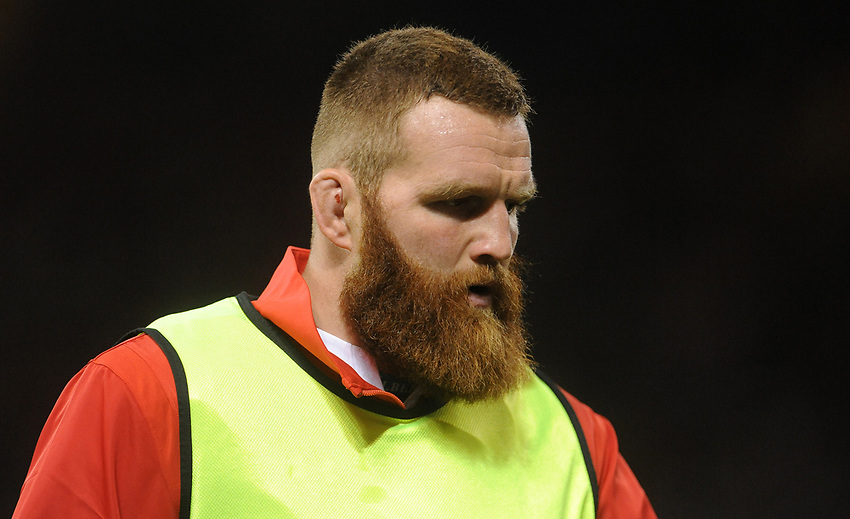 Wales Jake Ball warms up during the game<br /> <br /> Photographer Ian Cook/CameraSport<br /> <br /> 2019 Under Armour Summer Series - Wales v Ireland - Saturday 31st August 2019 - Principality Stadium - Cardifff<br /> <br /> World Copyright © 2019 CameraSport. All rights reserved. 43 Linden Ave. Countesthorpe. Leicester. England. LE8 5PG - Tel: +44 (0) 116 277 4147 - admin@camerasport.com - www.camerasport.com