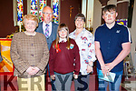 Lauren Bowler from Glenderry NS received her Confirmation on Friday in Ballyheigue standing with Annie, Thomas, Michelle and Luke Bowler.