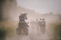 capturing this race live for TV is a scetchy undertaking at times... <br /> dusty too!<br /> <br /> 3rd Dwars Door Het hageland 2018 (BEL)<br /> 1 day race:  Aarschot > Diest: 198km