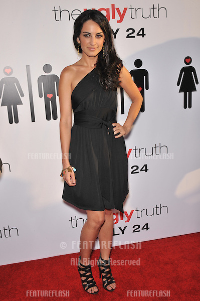 "Brooke Stone at the premiere of her new movie ""The Ugly Truth"" at the Cinerama Dome, Hollywood..July 16, 2009  Los Angeles, CA.Picture: Paul Smith / Featureflash"