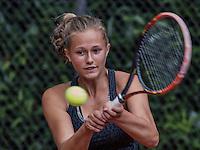 Hilversum, Netherlands, August 10, 2016, National Junior Championships, NJK, Bo van Beveren (NED)<br /> Photo: Tennisimages/Henk Koster