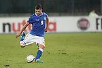 Massimiliano Busellato in action during the Four Nations football match tournament Italy vs Germany at Rovereto, on November 14, 2013.  <br /> <br /> Pierre Teyssot