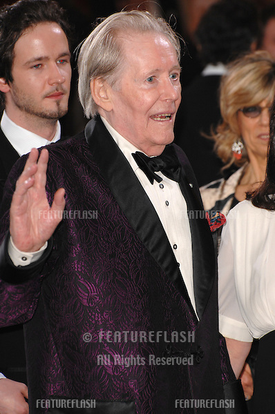 Peter O'Toole at the 79th Annual Academy Awards at the Kodak Theatre, Hollywood..February 26, 2007  Los Angeles, CA.Picture: Paul Smith / Featureflash