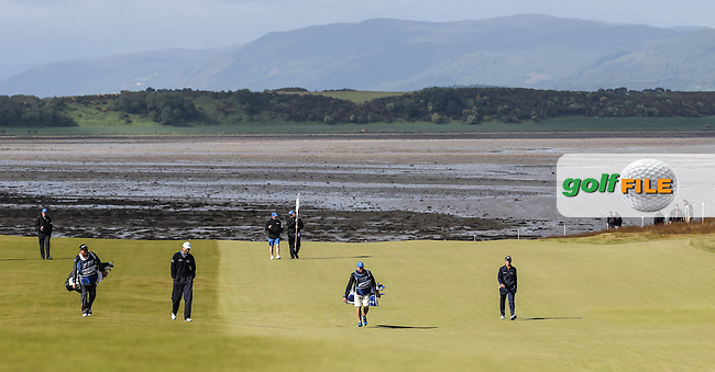 Fairway of the 12th during the First Round of the 2016 Aberdeen Asset Management Scottish Open, played at Castle Stuart Golf Club, Inverness, Scotland. 07/07/2016. Picture: David Lloyd | Golffile.<br /> <br /> All photos usage must carry mandatory copyright credit (&copy; Golffile | David Lloyd)