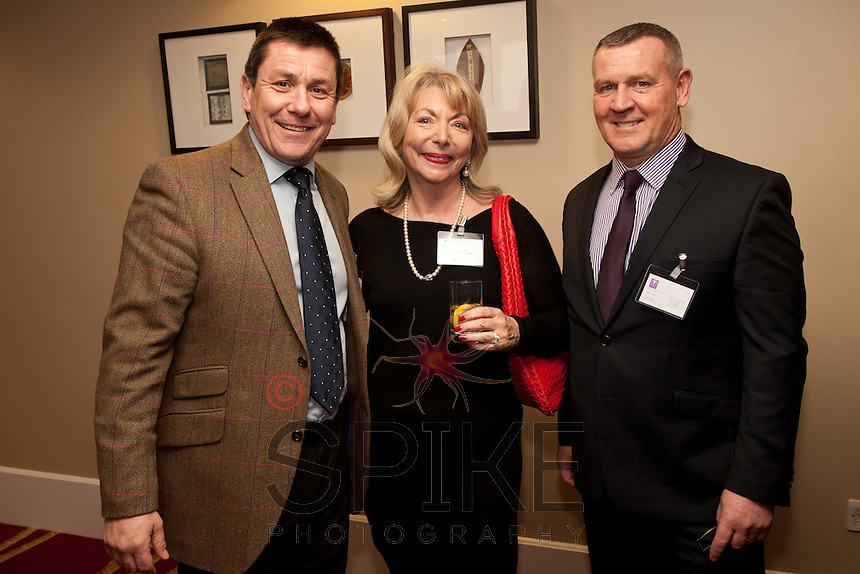 Nigel Rowlson of The Dairy with Judy Naake and Stephen Mason of Mason Infotech