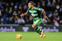 Wayne Routledge of Swansea City during the Barclays Premier League match between West Bromwich Albion and Swansea City at The Hawthorns on the 2nd of February 2016