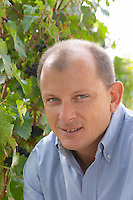 Thierry Audier, owner. Chateau la Grace Dieu les Menuts, Saint Emilion, Bordeaux, France
