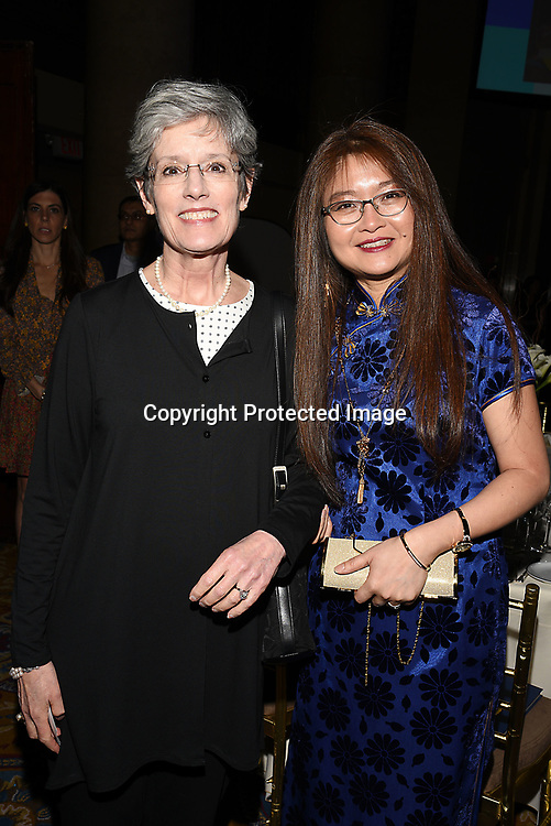 Julie Lam attends the Columbia Grammar & Prep School 2017 Benefit on March 8, 2017 at Cipriani Wall Street in New York, New York.