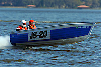 "Jeb Boskey, JS-20 ""Georgia Peach"" (Jersey Speed Skiff)"