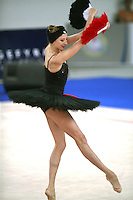 September 23, 2007; Patras, Greece;  Vera Sessina of Russia performs as ballerina during gala exhibition at 2007 World Championships Patras.  Vera finished 2nd in the All-Around final and help Russia win the 1st of 2-positions for individuals at 2008 Beijing Olympic Games.  Photo by Tom Theobald.