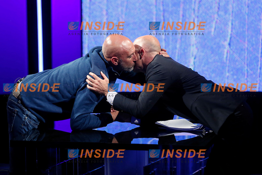 Sergio Pirozzi e Gianluca Semprini<br /> Roma 07-09-2016 Rai, trasmissione televisiva 'Politics'.<br /> Rome 7th September 2016 Tv show 'Politics'.<br /> Photo Samantha Zucchi Insidefoto