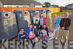 MOVE THEM OUT: Residents of An Fearann in Ardfert who want the bottle banks in the estate moved to the centre of the village, picture includes Marion O'Regan, Audrey Fortune, Mary Fortune, John Flanagan, Cllr Toireasa Ferris, Pat Murphy, Martin McGowan, John Sheahan.