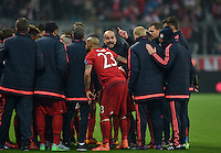 UEFA CL 2015/16 Achtelfinale: FC Bayern - Juventus Turin