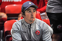 Fleetwood Town's manager Joey Barton during the The Leasing.com Trophy match between Fleetwood Town and Liverpool U21 at Highbury Stadium, Fleetwood, England on 25 September 2019. Photo by Stephen Buckley / PRiME Media Images.