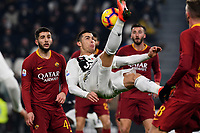 Cristiano Ronaldo of Juventus in action during the Serie A 2018/2019 football match between Juventus and AS Roma at Allianz Stadium, Roma, December 22, 2018 <br /> Foto OneNine / Insidefoto