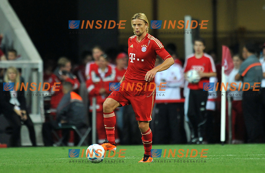 "Anatoliy TYMOSHCHUK (FC Bayer Monaco) .FC Bayern München Vs Barcellona.Football Calcio AUDI CUP 2011/2012 .Monaco di Baviera 27/7/2011 Stadio ""Allianz Arena"".Foto Alessandro Sabattini Insidefoto"