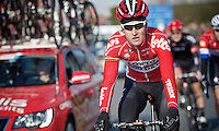 Young local hero and favourite Tiesj Benoot (BEL/Lotto-Soudal)<br /> <br /> 71st Omloop Het Nieuwsblad 2016