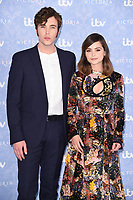 Tom Hughes and Jenna Coleman<br /> at the launch of the new series of ITV's &quot;Victoria&quot;, Ham Yard Hotel, London. <br /> <br /> <br /> &copy;Ash Knotek  D3297  24/08/2017