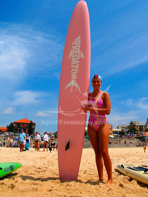 Surf carnival by a sunny day in Coogee.