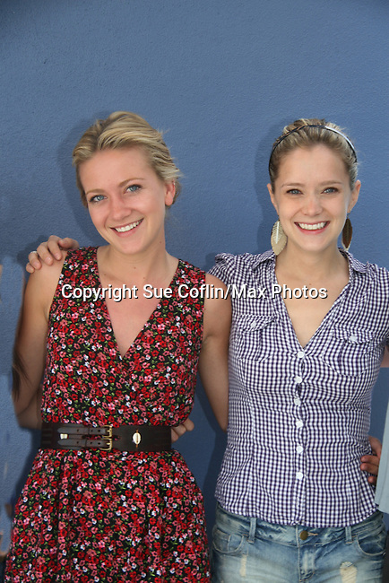As The World Turns' Meredith Hagner - Marnie Schulenburg -donate their time at the 12th Annual SoapFest - Painting Party to benefit Marco Island YMCA, theatre program & Art League of Marco Island on May 15, 2010 on Marco Island, FLA. (Photo by Sue Coflin/Max Photos)