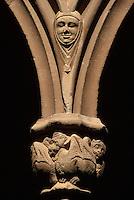 Spanien, Katalonien,  Montserrat, Kloster, gotischer Kreuzgang