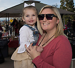 Two-year old Whitney and Madison Avila during the Sparks Hometowne Christmas Parade held on Saturday, December 2, 2017.