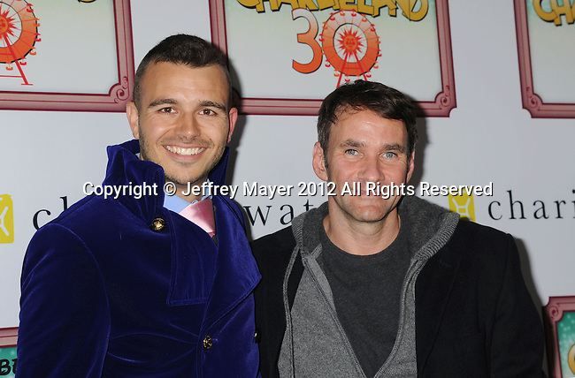 LOS ANGELES, CA - DECEMBER 08: Charlie Ebersol and Keith Ferrazzi attend Charlie Ebersol's 'Charlieland' Birthday Party And Charity: Water Fundraiser on December 8, 2012 in Los Angeles, California.