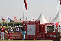 Chapchai Nirat (THA) on the 1st tee during Round 4 of the 2013 Avantha Masters, Jaypee Greens Golf Club, Greater Noida, Delhi, 17/3/13..(Photo Jenny Matthews/www.golffile.ie)
