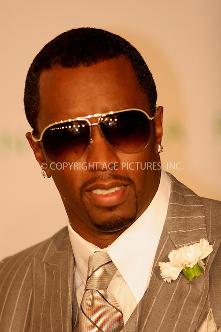 WWW.ACEPIXS.COM . . . . .  ....NEW YORK, JUNE 5, 2006....Sean 'P. Diddy' Combs at the 2006 CFDA Awards.....Please byline: NANCY RIVERA- ACEPIXS.COM.... *** ***..Ace Pictures, Inc:  ..Craig Ashby (212) 243-8787..e-mail: picturedesk@acepixs.com..web: http://www.acepixs.com