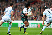 Opeti Fonua of Leicester Tigers in possession. European Rugby Champions Cup semi final, between Leicester Tigers and Racing 92 on April 24, 2016 at The City Ground in Nottingham, England. Photo by: Patrick Khachfe / JMP